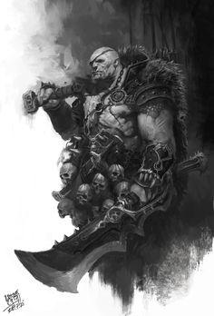 ArtStation - warlord, NI Yipeng