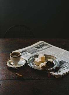 fotoblogturkey:  Türk Kahvesi, Lokum, Turkish Coffee, Turkish delight