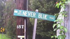 Nobody Blue Here It Seems. #StreetSign #NorthCarolina