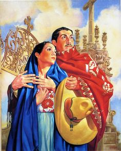 . Mexican Artwork, Mexican Folk Art, Mexican Pictures, Jesus Helguera, Latino Art, Philippines Culture, I Love Mexico, Western Caribbean, Spanish Art