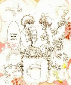 CardCaptor Sakura (extra chapter ending) , Li Syaoran and Sakura Kinomoto [CLAMP] ... So cute ❤
