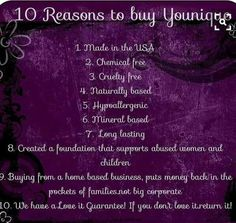 Younique Is one of the leading sellers of makeup! Check it out! Dignifiedlashes.com  (Younique Sales)
