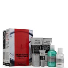 Buy Anthony Essential Traveler Kit (Worth £70.00) , expert grooming, skincare…