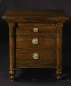 Indochine Bedside Chest, Grange Furniture Inc