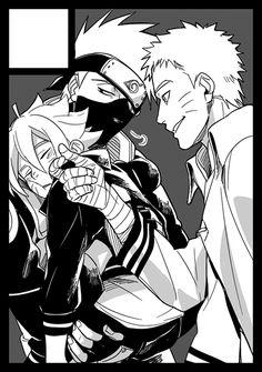 Boruto, Naruto, Kakashi