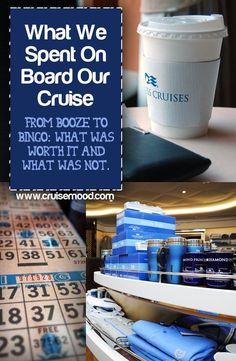What We Spent on Our Last Cruise: From booze to bingo, what was worth it and what was not. #travel #cruise