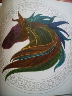 Playing with new fine tip pens #stallion #notfinishedbutloveit