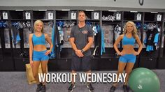 Learn some great core exercises with TopCats Megan and Hannah #WorkoutWednesday