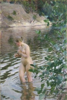 Anders Zorn, Frileuse (Shivering Girl), 1894
