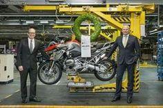 R2 MOTOS: Fábrica da BMW em Berlim fabrica a 500.000ª motoci...