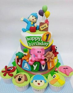 This is my first Pocoyo cake, and it turns out just great, blessed…
