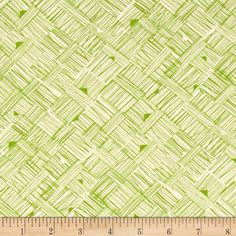 Star Landing Cross Hatch Green from @fabricdotcom  Designed by Jenean Morrison for Free Spirit, this cotton print is perfect for quilting, apparel and home decor accents.  Colors include green and white.