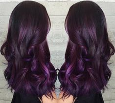 Sweet Plum... By Butterfly Loft stylist Masey @masey.cheveux
