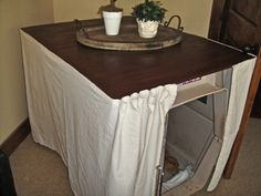 dog crate under table | Dog Crate 1