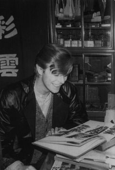 Mr. Bowie in Kyoto by Sukita, 1980