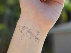 tatuagem de viagem