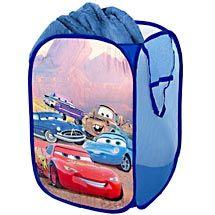 Walmart: Disney - Cars Pop-Up Hamper - Use current hamper and toy bin for gift wrap/bag storage WIN-WIN