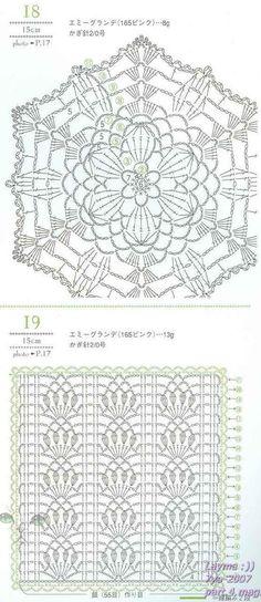 #ClippedOnIssuu from Crochet lacework 18, 19