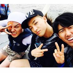 BIGBANG(ビッグバン)G-DRAGON(クォン・ジヨン)、TAEYANG(SOL:テヤン:トン・ヨンベ) prince_kwanghee(ファン・グァンヒ)'s Instagram Photo