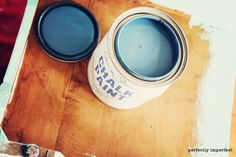 Chalk paint and wax tips.