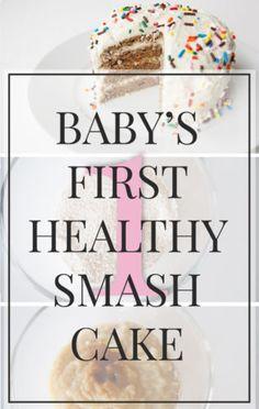 Healthy smash cake Babys First Birthday Cake Smash cakes