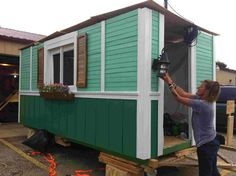 Here's an #inspiring video about a group in Madison, WI that builds tiny homes for the local #homeless