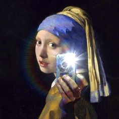 Girl with a Digital Camera – attributed to Mitchell Grafton (2012)