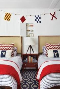 Nautical Bedroom.  Perfect for the boys.