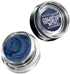Maybelline New York Eye Studio Color Tattoo Metal 24 Hour Cream Gel Eyeshadow Electric Blue 014 Ounce by Jubujub >>> Click on the image for additional details. Note:It is Affiliate Link to Amazon.