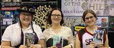 Supanova Adelaide 2017 - three authors with their new third books