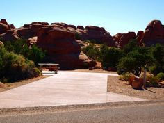 Photo: 011, DEVILS GARDEN CAMPGROUND, our reserved site at Arches NP