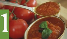 O Verdadeiro  Molho de Tomate Italiano | As técnicas e utilizo de utensí...