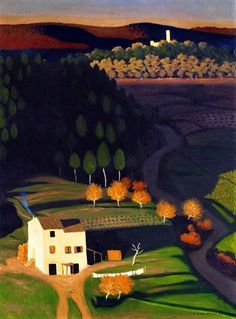 Premiers rayons (First rays), Félix Vallotton, 1921