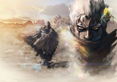 Asura's Wrath Interval Drama 13 by sidneymadmax on DeviantArt Art Inspiration Drawing, Character Inspiration, Character Art, Character Design, Really Cool Wallpapers, Asura's Wrath, Night In The Wood, Life Is Strange, Dope Art