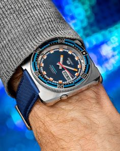 men's watches – High Fashion For Men Amazing Watches, Beautiful Watches, Cool Watches, Retro Watches, Vintage Watches, Seiko Mod, Field Watches, Panerai Watches, Luxury Watches For Men