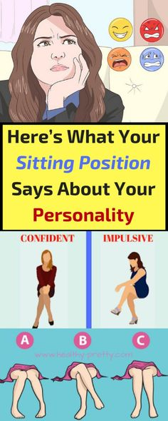 A recent research showed that the sitting position of an individual can reveal a lot of #hidden #facts regarding their #behavior and that it can represent their overall #personality.