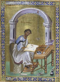 St Luke the Evangelist by Anonymous http://www.magnoliabox.com/art/528451/St_Luke_the_Evangelist