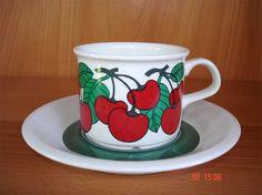 Marimekko, My Childhood, Finland, Cupboard, Kitchen Decor, Nostalgia, Memories, Mugs, Retro
