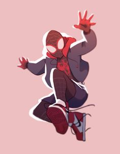 spiderman into the spiderverse Spiderman Poses, Spiderman Art, Marvel Dc, Spider Verse, Character Art, Character Design, Miles Morales, Spider Gwen, Male Poses