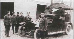 Latvian armored vehicle Sheffield-Simplex «Imanta».September 12, 1919