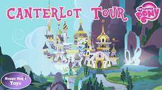 My Little Pony Canterlot Tour Mane 6 Happy Magic Toys