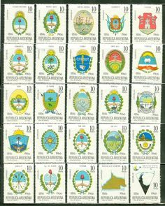 Argentina 1966 150th Ann Independence COMPLETE SET OF MNH SINGLES CV$25 Stamp Collecting, Postage Stamps, Ann, Ebay, Collection, Postage Stamp Design, Europe, Argentina, Stamps
