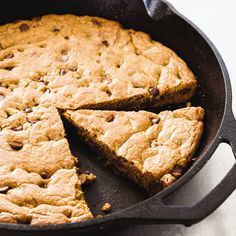 Cast-Iron Chocolate Chip Skillet Cookie