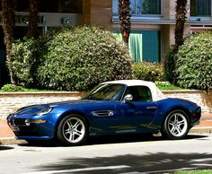 in a Topas Blue, a rare sight, are Titan Silver Bmw Z8, M Bmw, Couple Wallpaper, Cars And Motorcycles, Hot Wheels, Desktop, Wallpapers, Silver, Blue