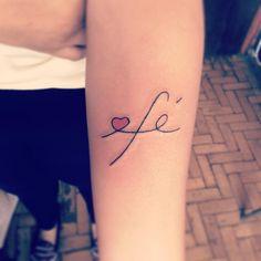 fé tattoo - Pesquisa Google