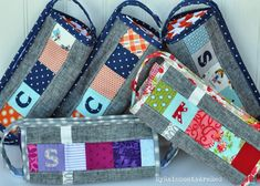 My Rainboots Are Red: :: Sew-Together Bags
