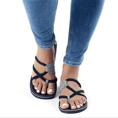 0519df300dca Plus Size High Quality Flip Flops Cute Beach Slippers Sandals Outfit