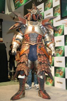 Cosplay Forum • Voir le sujet - Armure Rathalos + lame lacerator