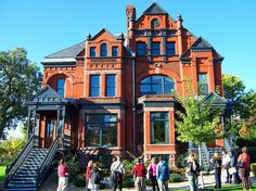 St Paul, Minnesota, Armstrong House...