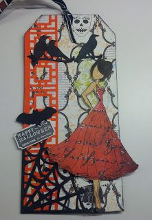 Creating @ Lily's Pad: Prima Doll - Halloween Tag
